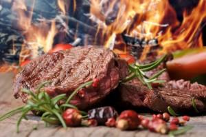 gegrilltes Steak vom Rind