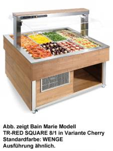 Nordcap Bain Marie TR-RED SQUARE 8/1