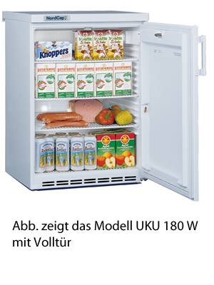 Nordcap Kühlschrank UKU 180 W-G